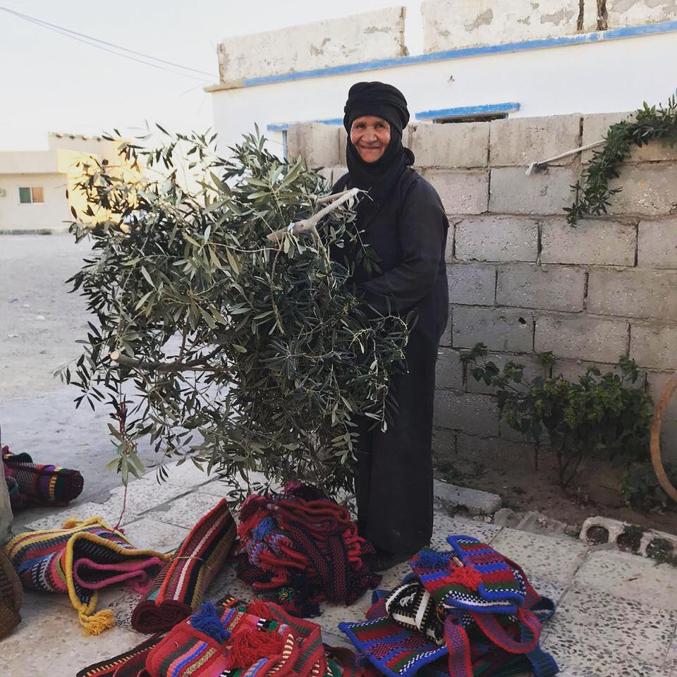 Bedouin woman Jordan